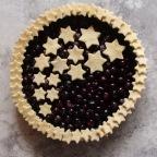 Shooting Stars Blueberry Pie